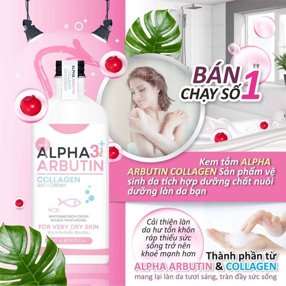 sua-tam-trang-da-alpha-arbutin-collagen-thai-lan