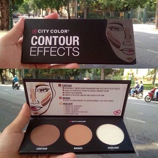 Bảng Phấn Tạo Khối - Highlight City Color Contour Effects