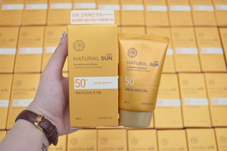 Kem .Chống Nắng - Natural Sun Eco Extreme Sun Cream - the face shop