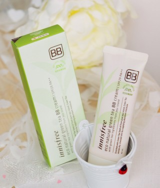 .Kem Nền BB Cream Trà Xanh INNISFREE - ECO NATURAL GREEN TEA BB CREAM SPF29 PA++