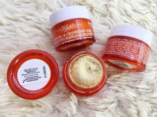 Mặt Nạ Ngủ Cho Da Mụn - Kiehl's Turmeric & Cranberry Seed Energizing Radiance Masque
