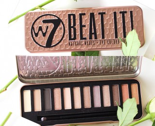Phấn Mắt W7 - BEAT IT NATURAL NUDES