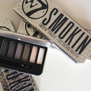 Phấn Mắt W7 - SMOKIN Eye Colour Palette
