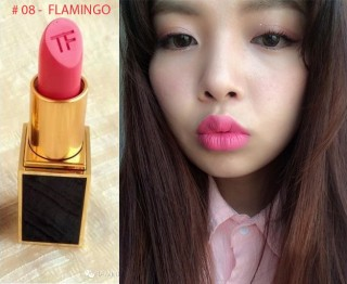 SON MÔI TOM FORD LIP COLOR MATTE - MÀU 08 -  FLAMINGO