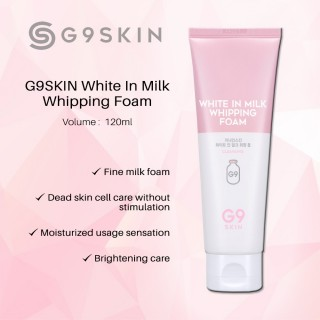 Sữa .Rữa Mặt - White In Milk Whipping Foam -G9 Skin