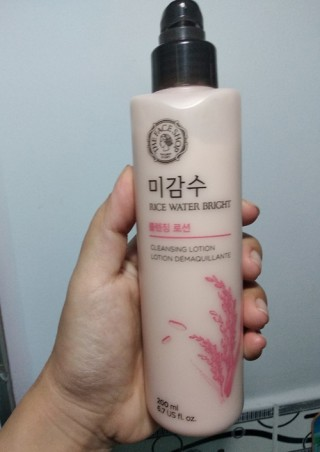 THANH LÝ Sữa Tẩy Trang - Rice Water Bright Cleansing Lotion - The Face Shop
